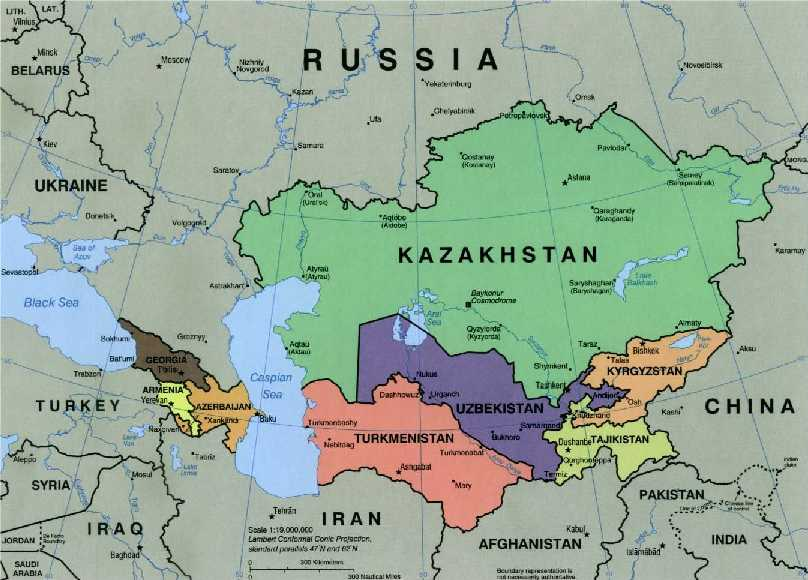 In the Heart of Eurasia - GEOPOLITICA.info