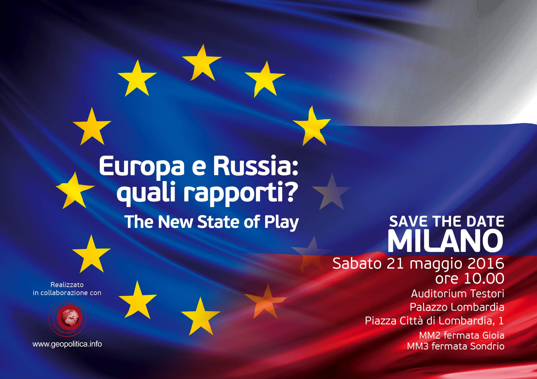 Europa e Russia: quali rapporti? The New State of Play - Geopolitica.info