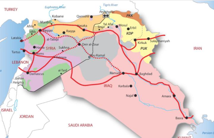 Il corridoio sciita dell'Iran verso il Mediterraneo: tra mito e realtà - Geopolitica.info