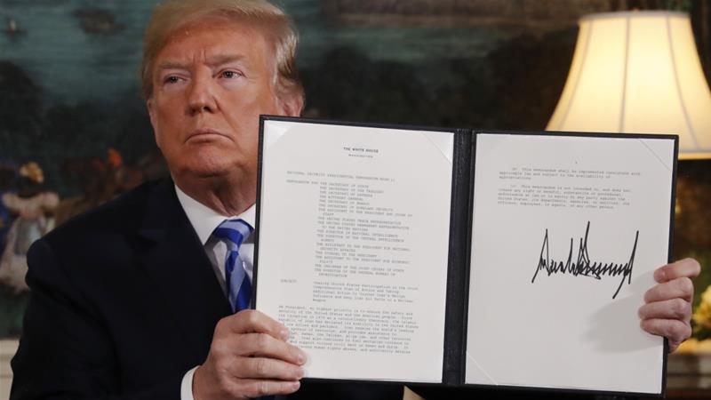 Trump esce dall'accordo sul nucleare con l'Iran: le reazioni e gli scenari - Geopolitica.info