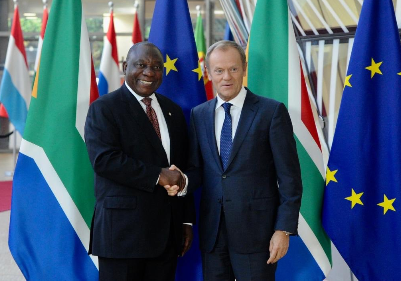 100 years after the birth of Nelson Mandela,  South Africa and the EU talk business to tackle their issues - GEOPOLITICA.info