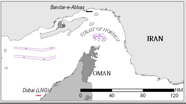 L'importanza dello Stretto di Hormuz - Geopolitica.info