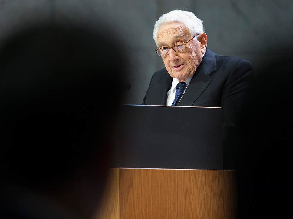 Henry Kissinger warns destroying Isis could lead to 'Iranian radical empire' - GEOPOLITICA.info